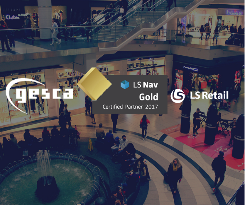 Gesca LS Retail Gold Partner 2017