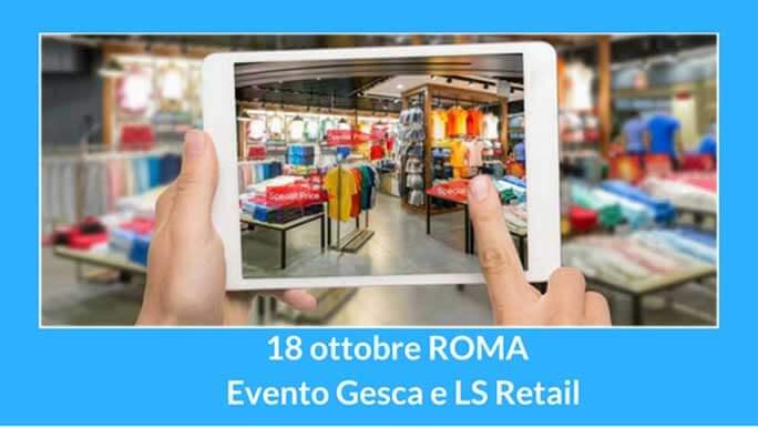 Evento Gesca LS Retail ottobre 2017
