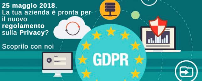 GDPR: consulenza legale, organizzativa e tecnologica