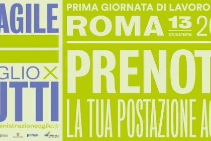 13 Dicembre: prima giornata a Roma Lavoro Agile