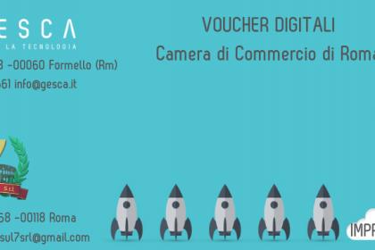 Voucher digitali impresa 4.0 Camera di Commercio di Roma