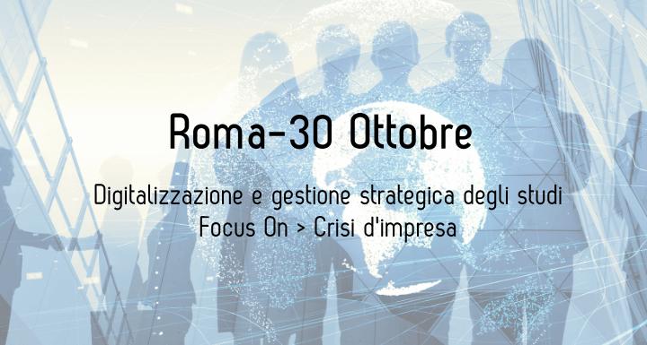 Evento GescaSistemi: gestione strategica dello Studio e prevenzione crisi d'impresa