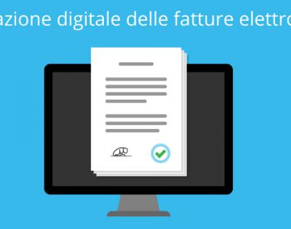 La conservazione digitale delle fatture elettroniche